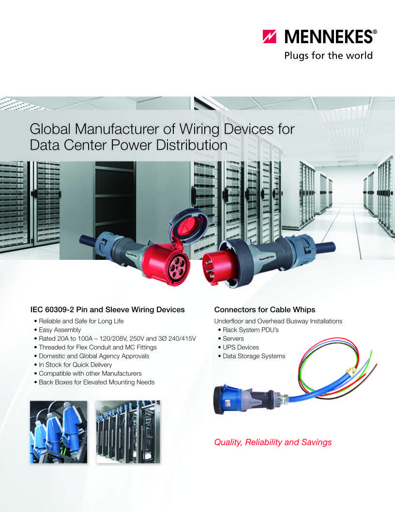 Wiring Devices For Data Centers 4 Wire 250v Schematic Diagram